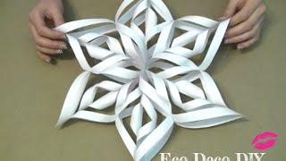 Vero Vi 💋 COPOS DE NIEVE 3D de papel 💜
