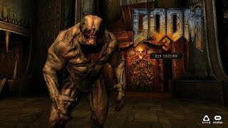 DOOM 3 BFG In Virtual Reality - RBDOOM-3-BFG 1.1.0 openvr 4 - Oculus Rift CV1 - GamePlay width=