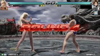 getlinkyoutube.com-Tekken7 Lili vs Asuka Throw Up