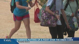 getlinkyoutube.com-Round Rock High School students start petition due to dress code enforcement