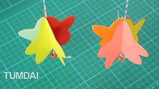 getlinkyoutube.com-สอนทำโมบายกระดาษ รูปดาว ประดับน่ารักๆ