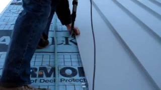 "getlinkyoutube.com-""Metal Roof Installation"" by CoolFlatRoof.com"