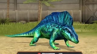 getlinkyoutube.com-OPHIACODON - LVL 40 - Jurassic World The Game