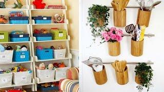 getlinkyoutube.com-أفكار سهلة وشيقة لتخزين الأشياء المنزلية وإعادة تنظيمها فى المطبخ والحمام وغرف الاطفال