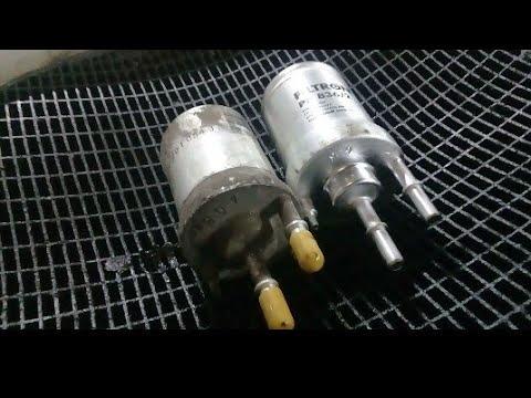 Будьте внимательнее при замене топливного фильтра.На примере Фольксваген Поло.