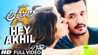getlinkyoutube.com-HeyAkhil Full Video Song || Akhil - The Power Of Jua || AkhilAkkineni,Sayesha