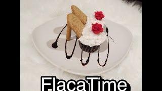 getlinkyoutube.com-Como hacer cupcakes en forma de zapatilla / Tacon