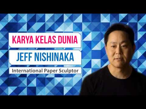Jeff Nishinaka Paper Sculptor  International (Seniman kerajinan kertas)