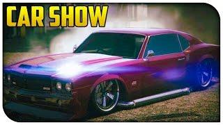 getlinkyoutube.com-GTA 5 Online - Muscle Car Showcase! (Stream Highlights) [GTA V]