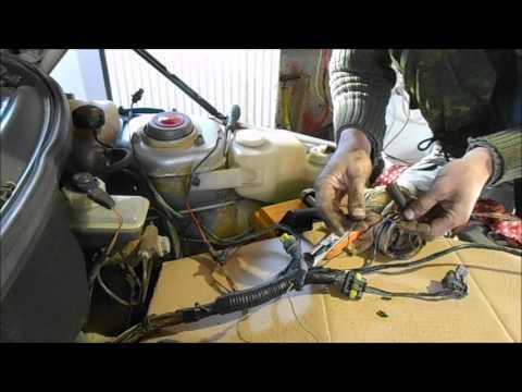 Лечим проводку ВАЗ 2110 16V