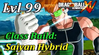 getlinkyoutube.com-Dragonball Xenoverse Class Build: Saiyan Hybrid (Ki Blaster And Basic)