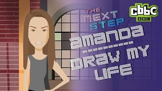 getlinkyoutube.com-The Next Step | Amanda's Draw My Life | CBBC