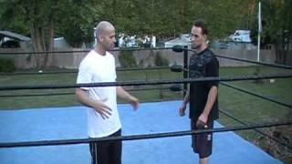 Spear - How to do the Spear - Wrestle like Edge and Batista