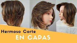 CORTE EN CAPAS | CABELLO CORTO | LEONARDO RAMIREZ