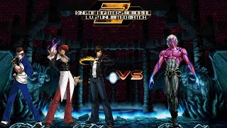 getlinkyoutube.com-[KOF Memorial Lv.2 UM] Team Iori vs Magaki