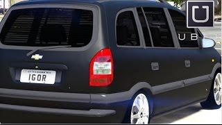 getlinkyoutube.com-GTA V - Vida Real : UBER #09 / Chevrolet Zafira
