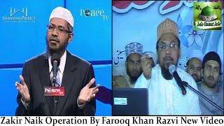 Farooq Khan Razvi New Video By Dr. Zakir Naik - Peace TV Operation Watch Video