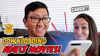 Caught Downloading Adult Movies! (pranking a YouTuber's mom)