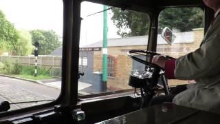 getlinkyoutube.com-Trolleybus cab ride - Derby 237 (SCH 237) follows Maidstone 52 (LCD 52)