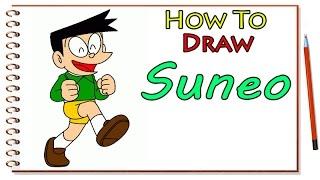 How to Draw Suneo Doraemon - Suneo Doraemon Drawing