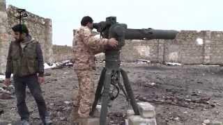 getlinkyoutube.com-حلب تدمير طيارة حربية بصاروخ تاو على يد الجيش الحر 12 1 2015
