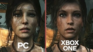 getlinkyoutube.com-Tomb Raider - Complete Graphics Comparison (PS4/Xbox One/PC/PS3/Xbox 360)