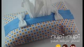getlinkyoutube.com-Membuat Cover Tisu dari Kain Flanel
