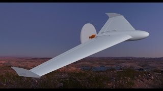 Maiden flight of a 3d printed flying wing