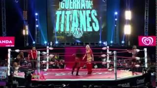 Sexy Star & Taya Valkyrie vs Ivelisse Vélez & Faby Apache - Guerra de Titanes (2014)