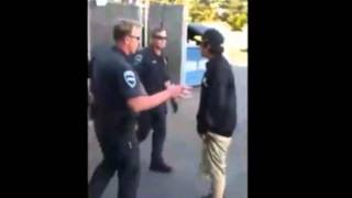 getlinkyoutube.com-Smart Ass Arrested: Police Accused of too much force during teen arrest... You Decide!