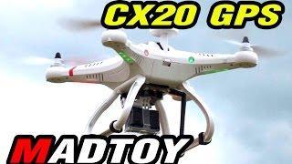 getlinkyoutube.com-ขาย โดรนบังคับ CX20 Multi Rotor มี GPS บินกลับบ้านได้เอง! 9,900บาท