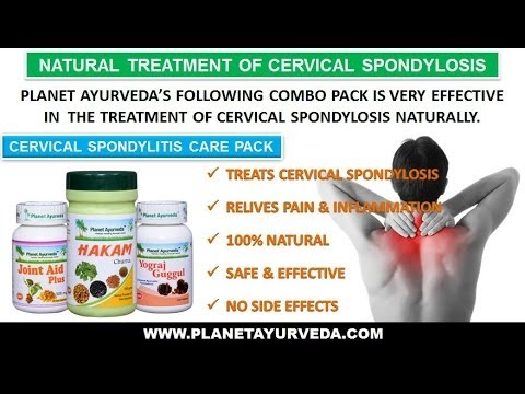 Cervical Spondylosis Natural Treatment with Ayurvedic Medicines