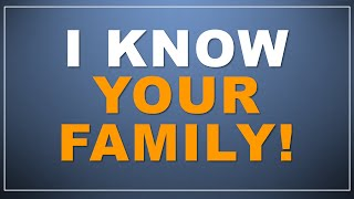 getlinkyoutube.com-AWESOME: I know your family! (Mind Magic)