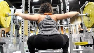 getlinkyoutube.com-Booty Poppin' Squat Workout With MelDiva | Furious Pete