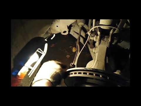 Устранение стука в подвеске. Ниссан сентра.Замена рулевых наконечников.