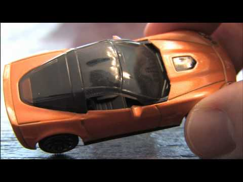 2010 CORVETTE ZR1 Matchbox car review by CGR Garage