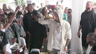 getlinkyoutube.com-Singer Chris Brown wasted as he parties in Cannes during the 68th Film Festival.
