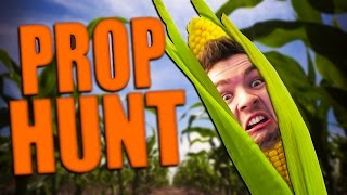 BE THE CORN! | Gmod: Prop Hunt (Funny Moments)