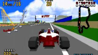getlinkyoutube.com-Genesis/32X「Virtua Racing DELUXE / バーチャレーシングデラックス」Gameplay