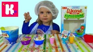 getlinkyoutube.com-Набор для приготовления мороженого распаковка набора make ice-cream set unpacking set