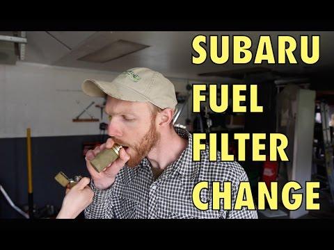Subaru Fuel Filter Change (in tank)
