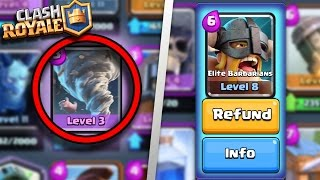 getlinkyoutube.com-TOP 5 WORST CARDS IN CLASH ROYALE AFTER NEW UPDATE! | WORST LEGENDARY/EPICS/RARES/COMMONS CARDS 2016
