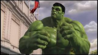 getlinkyoutube.com-Marvel Super Heroes 4D movie at Madame Tussauds London