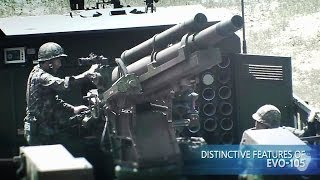 Samsung Techwin - EVO-105 105mm Evolved Wheeled Self-Propelled Howitzer [720p]
