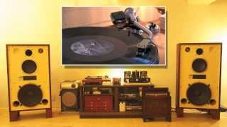 "getlinkyoutube.com-Diana Krall ""My Love Is"" (Vinyl) JBL4343 + 300B Tube Amp + micro turntable 24bit/96kHz"