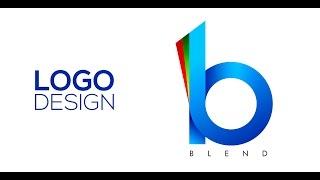 getlinkyoutube.com-Professional Logo Design - Adobe Illustrator cs6 (BLEND)