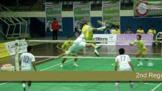 getlinkyoutube.com-Takraw Thailand League 2009 Match 8 Bangkok -Nakhon Ratchasima