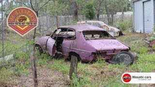 getlinkyoutube.com-Abandoned In Australia: Four Down 'n' Out, Holden Torana (LC or LJ) Coupes