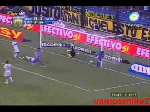 Boca 1 Godoy Cruz 4 - Torneo Clausura 2011