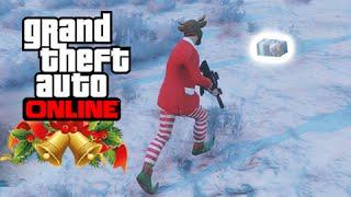 getlinkyoutube.com-GTA V PS4 Online: Pegando as Caixas Especiais, Presente do Papai Noel e FELIZ NATAL #LofS
